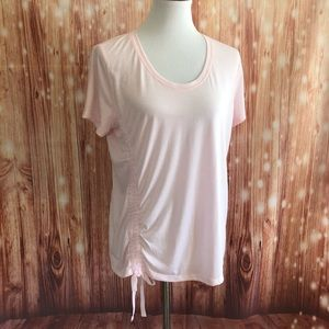 Old Navy Active Pink Loose Fit Go Dry T Shirt